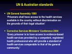 un australian standards