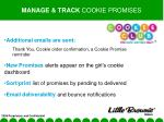 manage track cookie promises