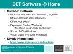 det software @ home20