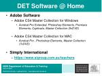 det software @ home21