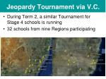 jeopardy tournament via v c44