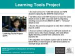 learning tools project
