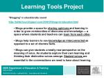 learning tools project31