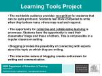 learning tools project32