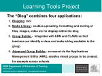 learning tools project35