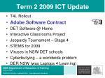 term 2 2009 ict update13