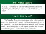 student teacher 1