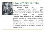 elton mayo 1880 1949