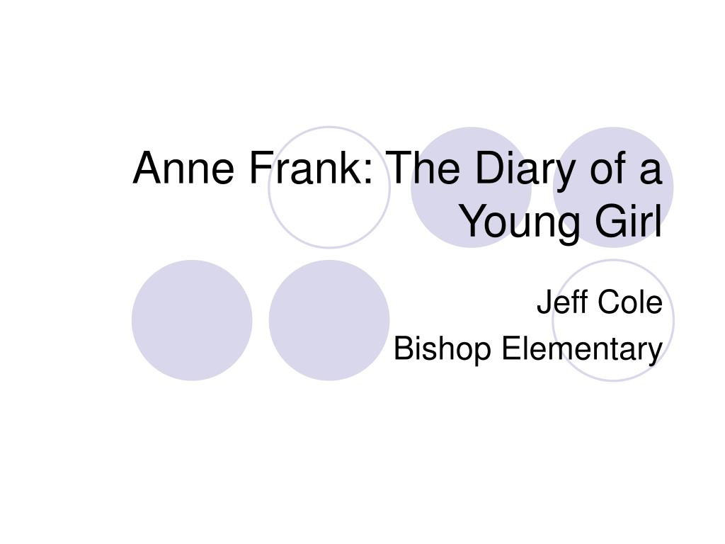 anne frank the diary of a young girl l.