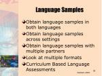 language samples59