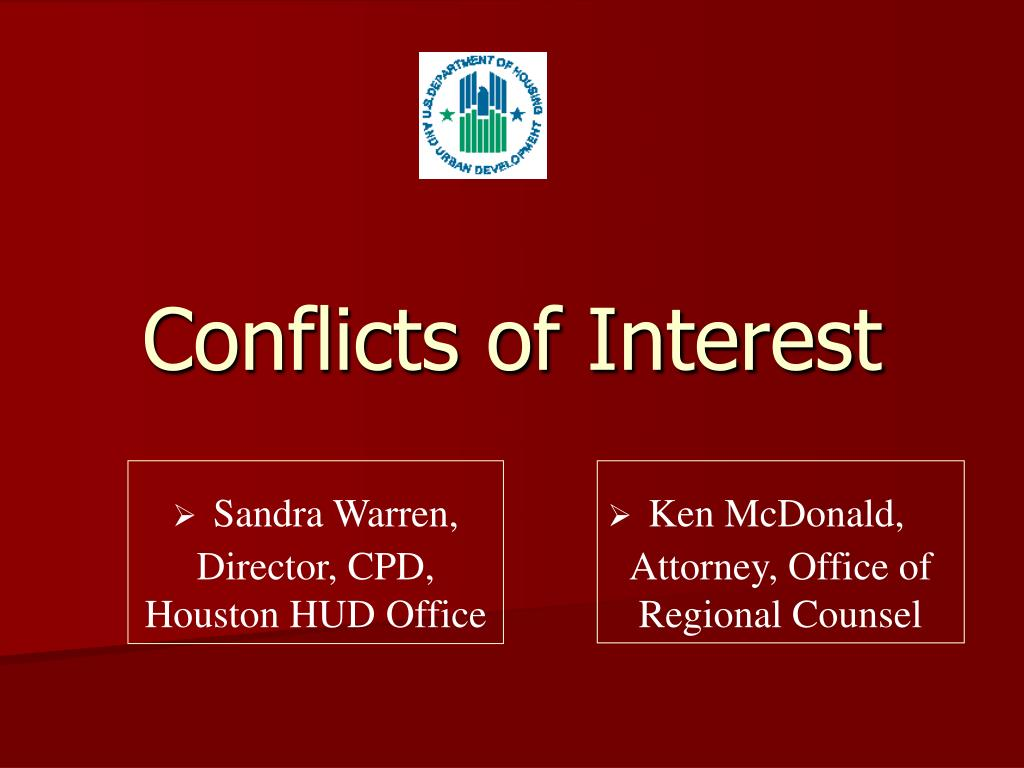 conflicts of interest l.