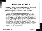 history of anns 3