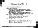 history of anns 6