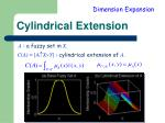 cylindrical extension