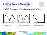 artificial neural networks11