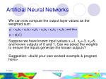 artificial neural networks8
