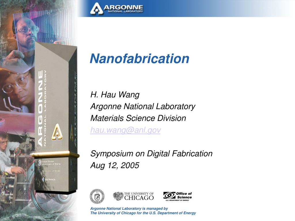 nanofabrication l.