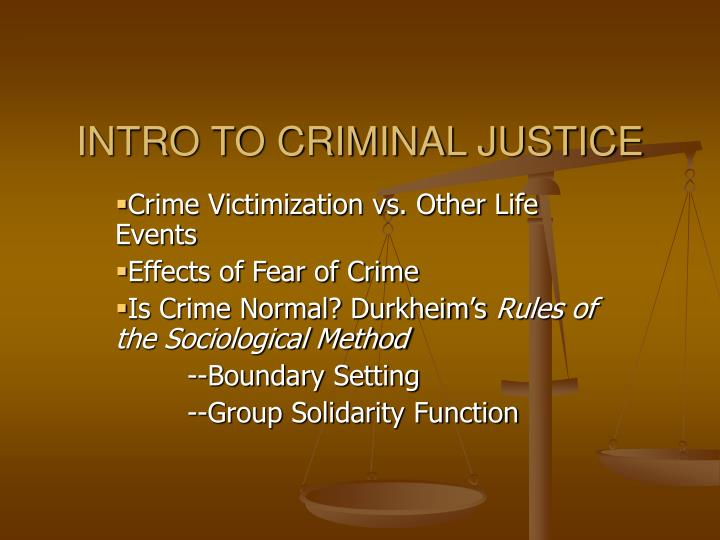 intro to criminal justice chapter 2 View homework help - criminal justice chapter 2 focus assignment from pols 34205 at northwest missouri state university intro to criminal justice: chapter 2 focus.