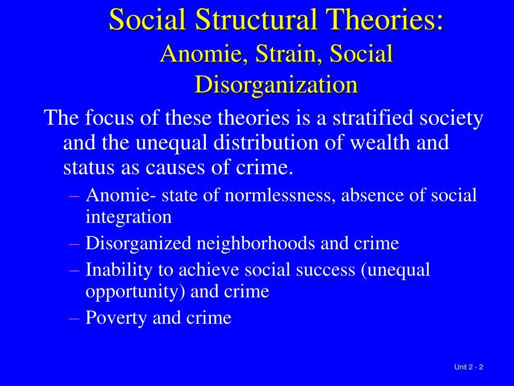 causes of family disorganization