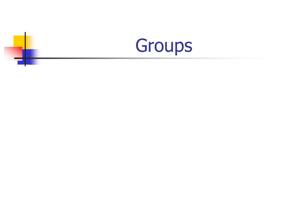 groups l.