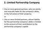 2 limited partnership company