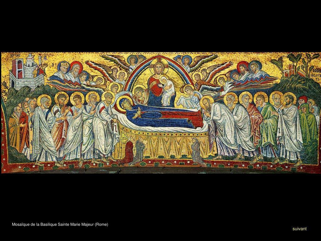 Mosaïque de la Basilique Sainte Marie Majeur (Rome)