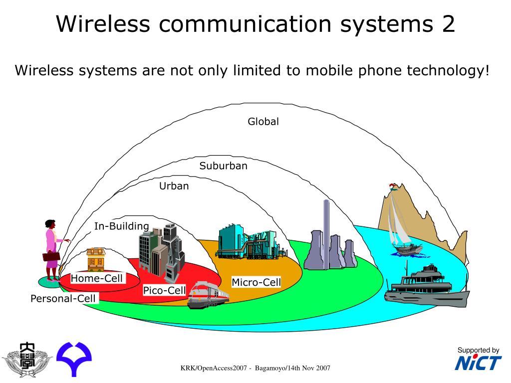 Wireless communication systems 2