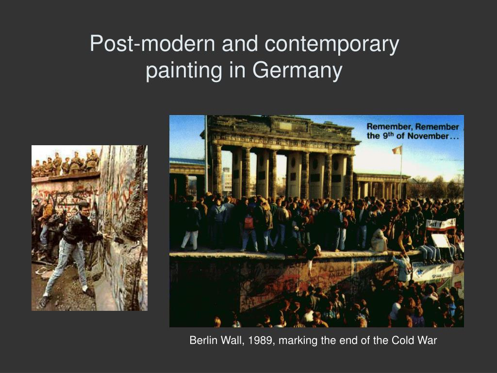 post modern and contemporary painting in germany l.