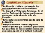 cristianismo y filosof a6