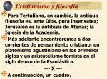 cristianismo y filosof a8