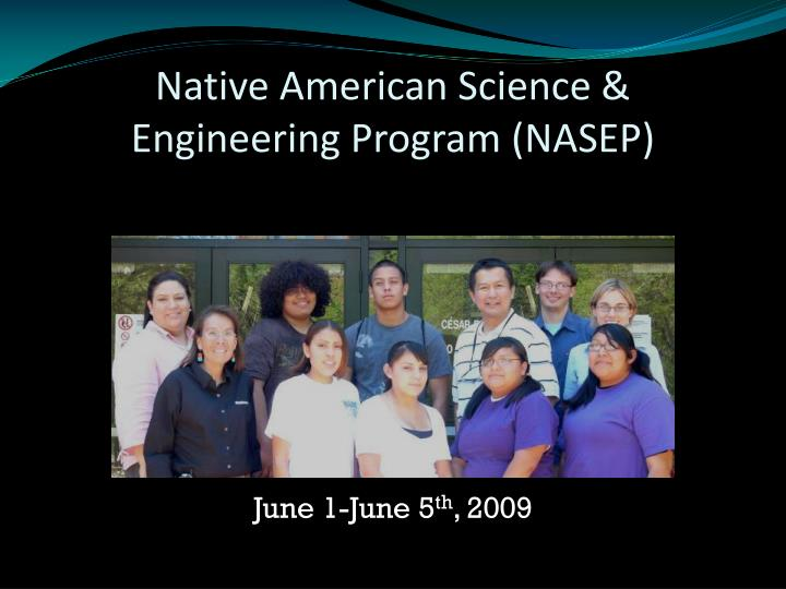 native american science engineering program nasep n.
