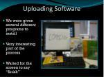 uploading software