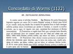 concordato di worms 1122