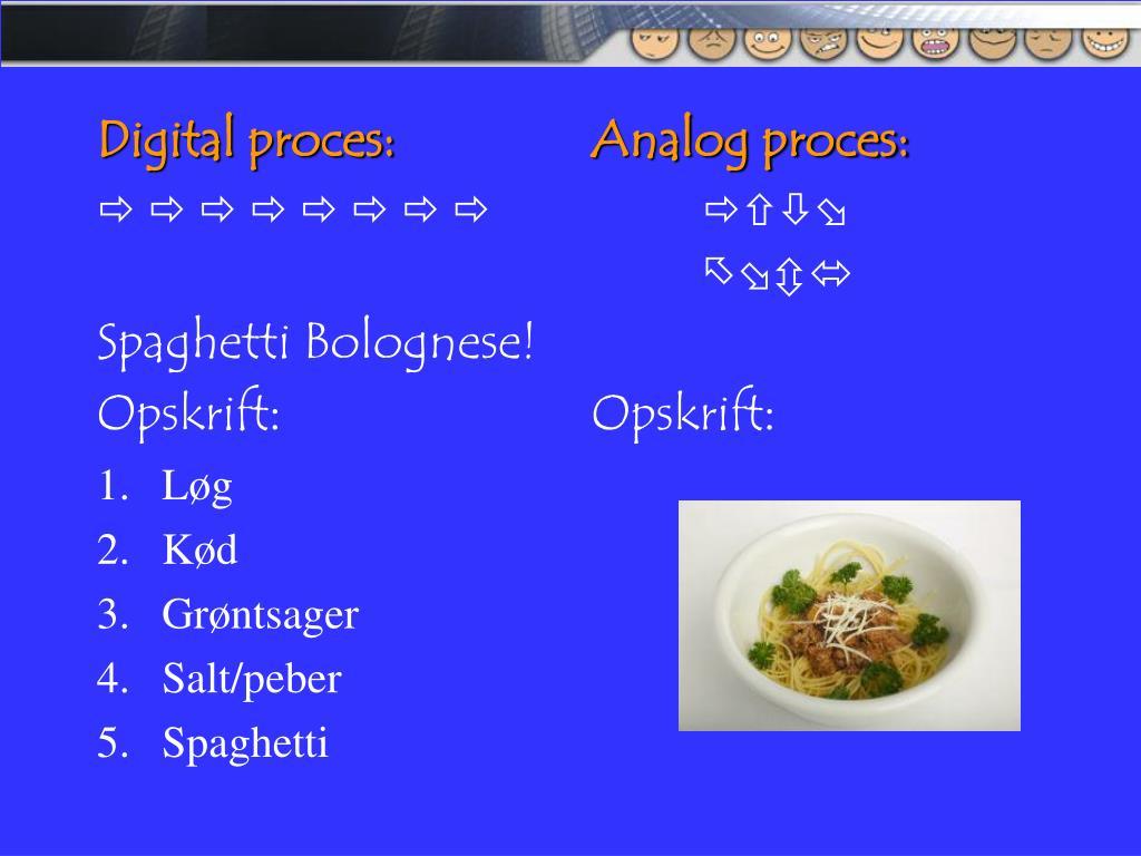 Digital proces: