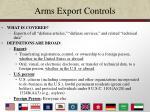arms export controls12
