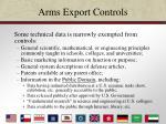 arms export controls14