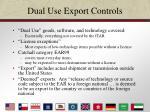 dual use export controls18