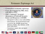 economic espionage act