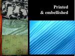 printed embellished