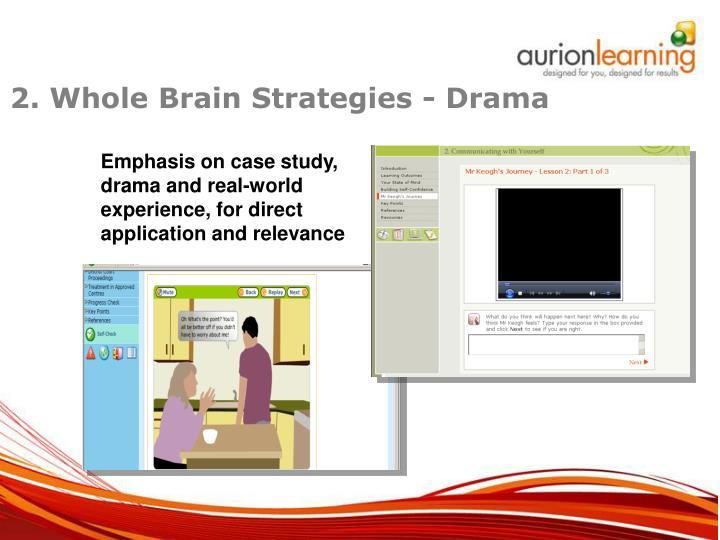 2. Whole Brain Strategies - Drama