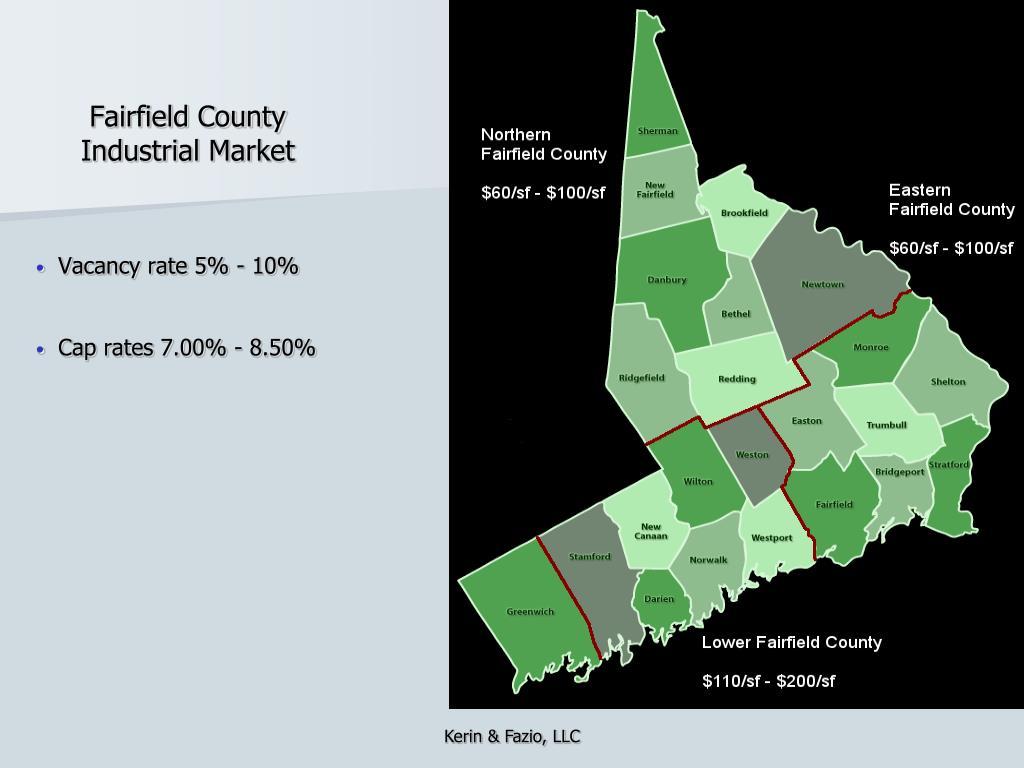 Fairfield County Industrial Market
