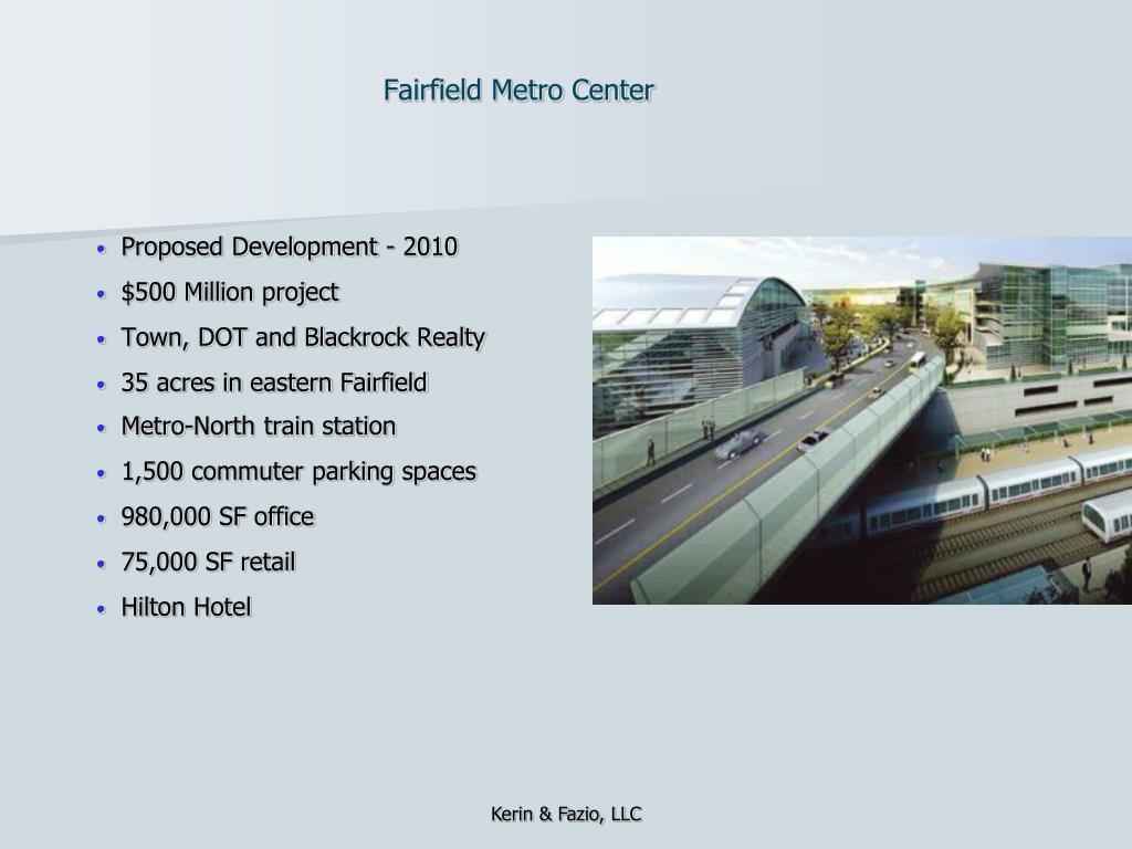 Fairfield Metro Center