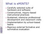 what is emints