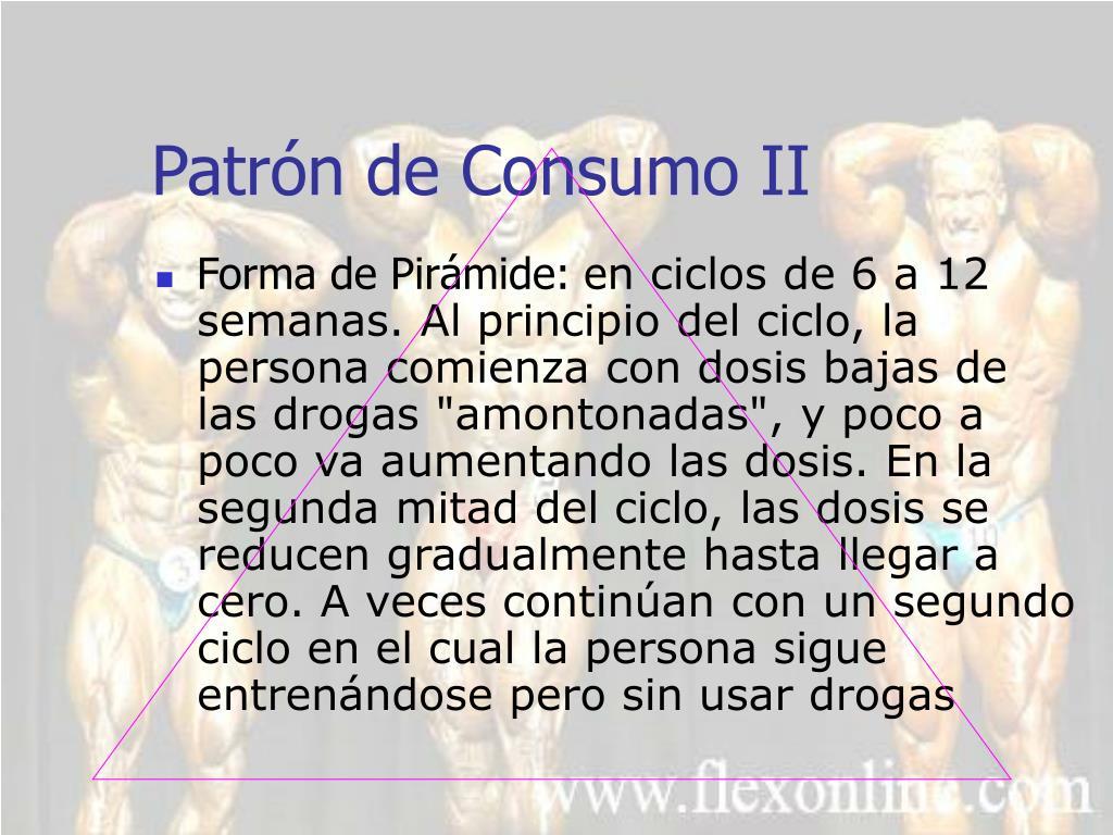 Patrón de Consumo II