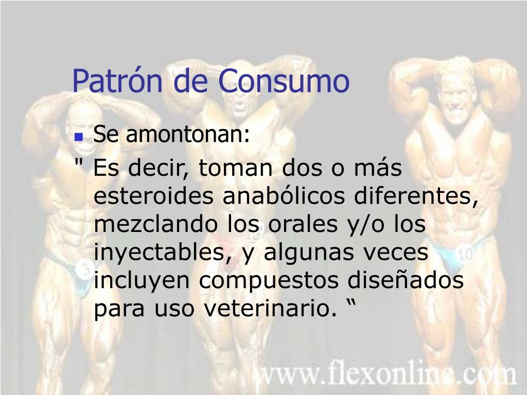 Patrón de Consumo