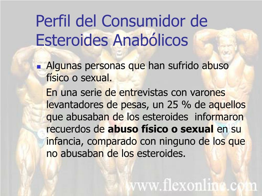 Perfil del Consumidor de Esteroides Anabólicos