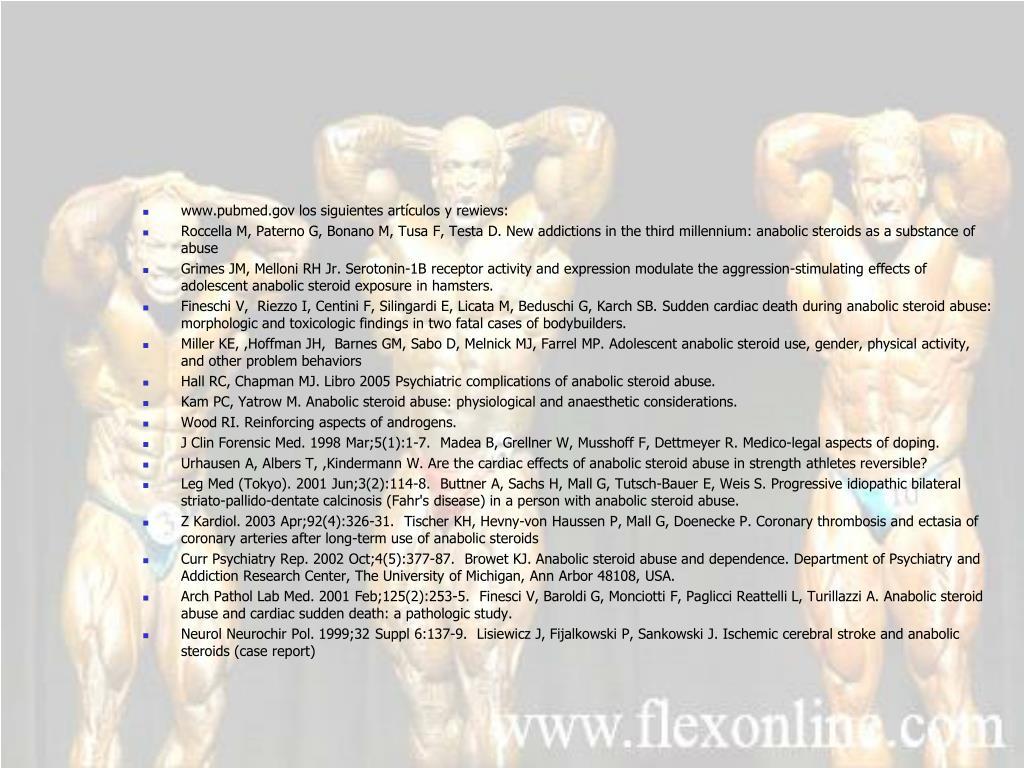 www.pubmed.gov los siguientes artículos y rewievs: