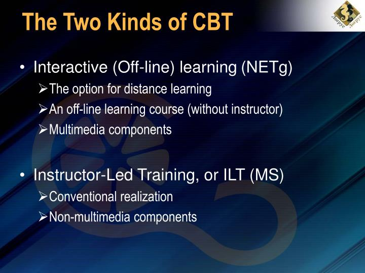The Two Kinds of CBT