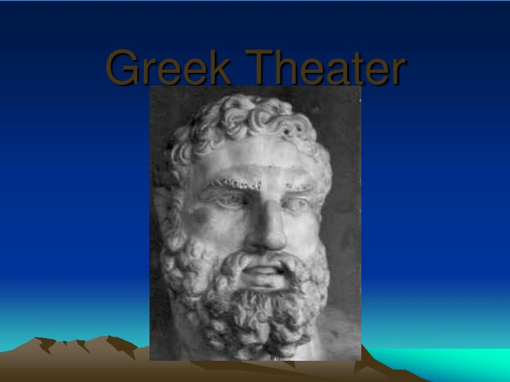 greek theater n.