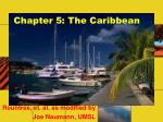 chapter 5 the caribbean